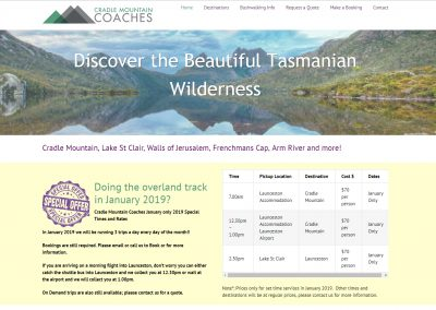 Cradle Mountain Coaches